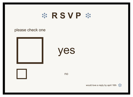 RSVP-YES-OR-NO