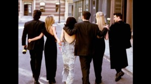 Friends TV show cast AP graphics