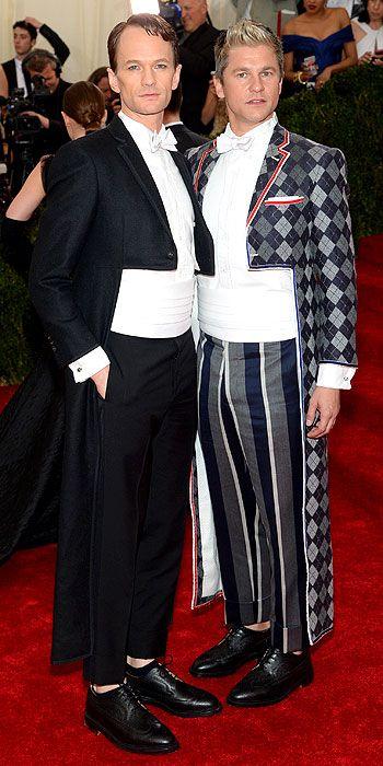 Neil Patrick Harris and David Burtka in Tom Ford