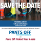 Pants Off Save the Date